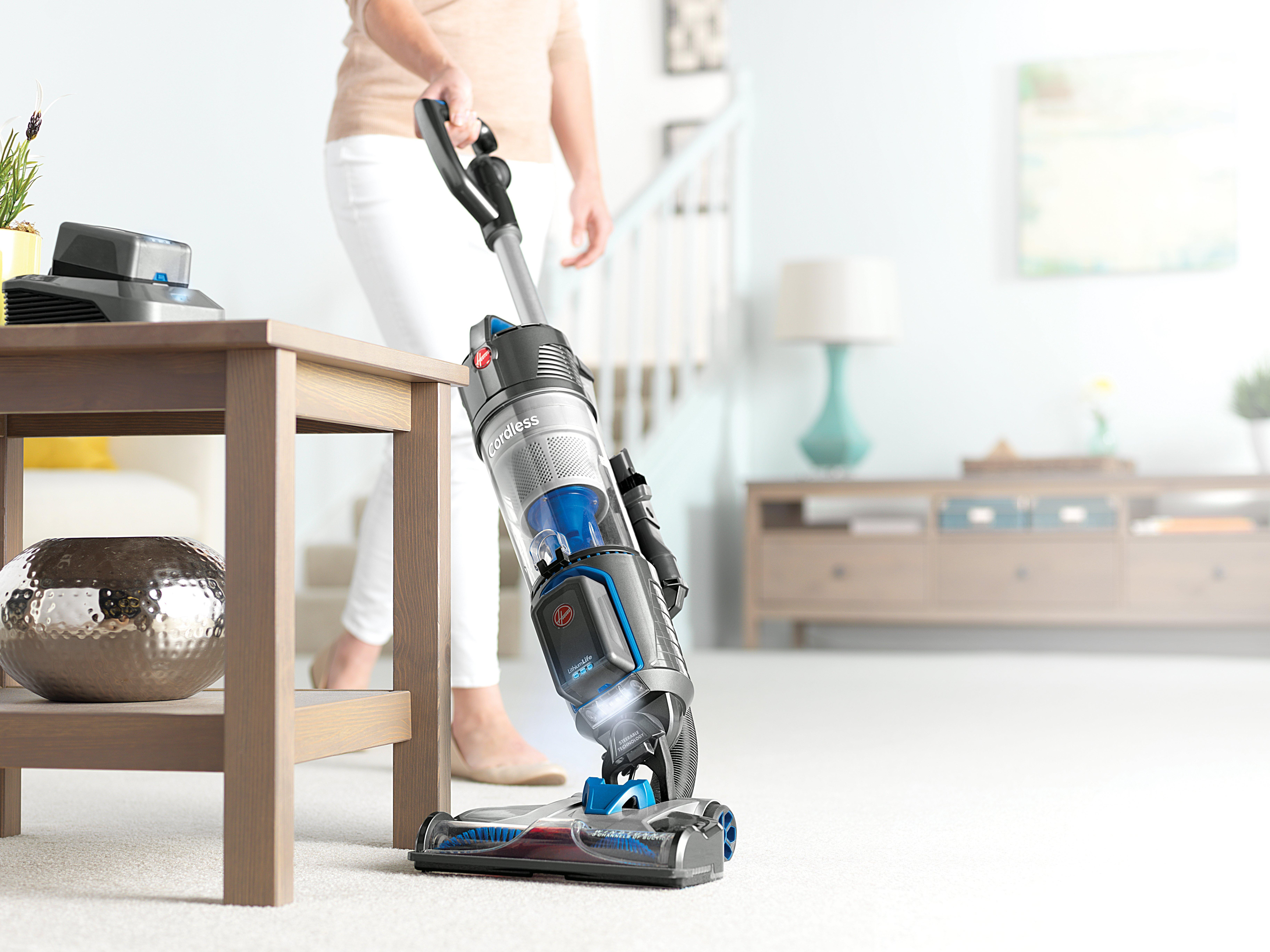 Hoover Air Cordless Bagless Upright Vacuum Cleaner Series