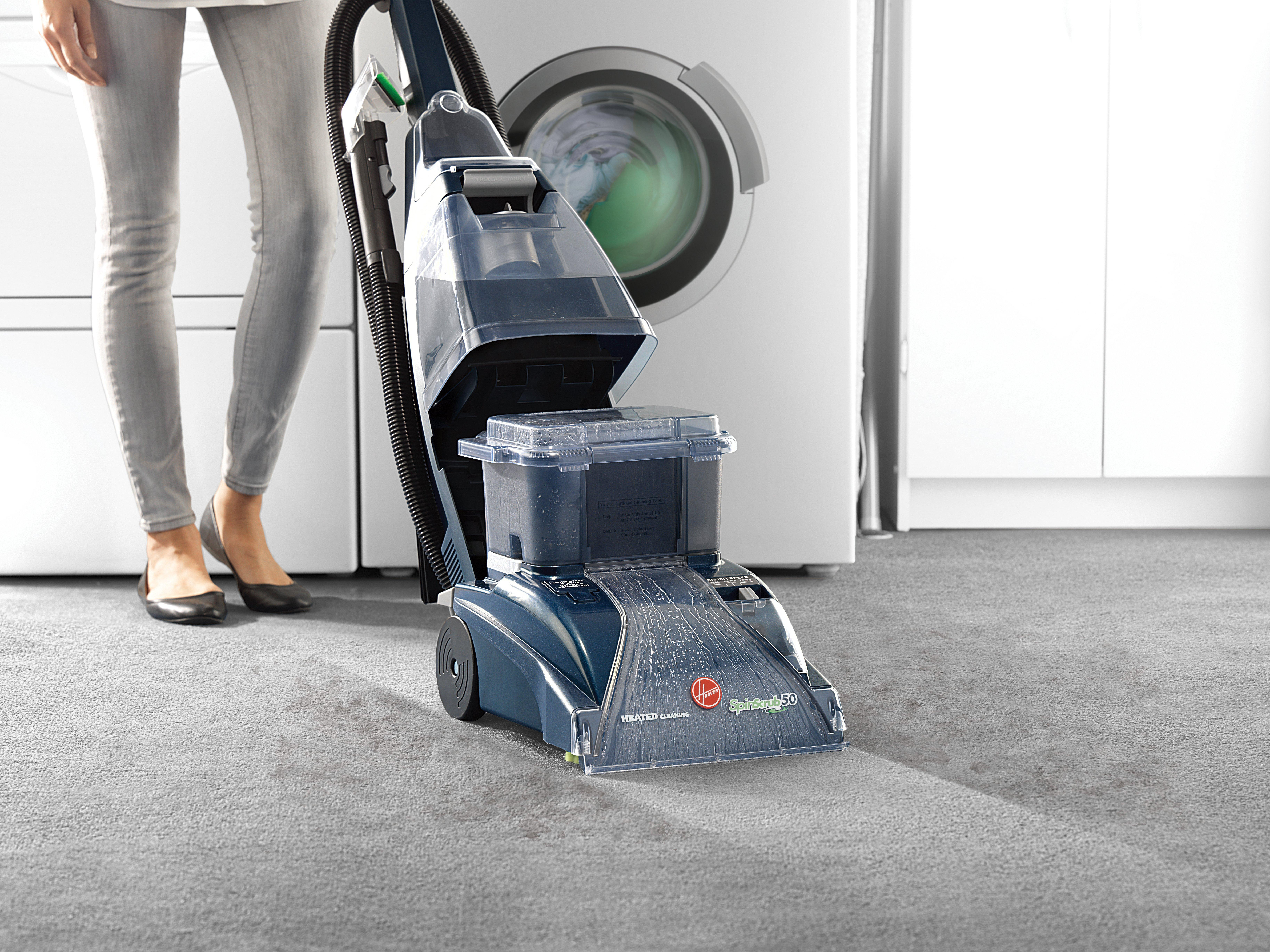 Hoover Steamvac Spinscrub With Cleansurge Carpet Cleanerwasher