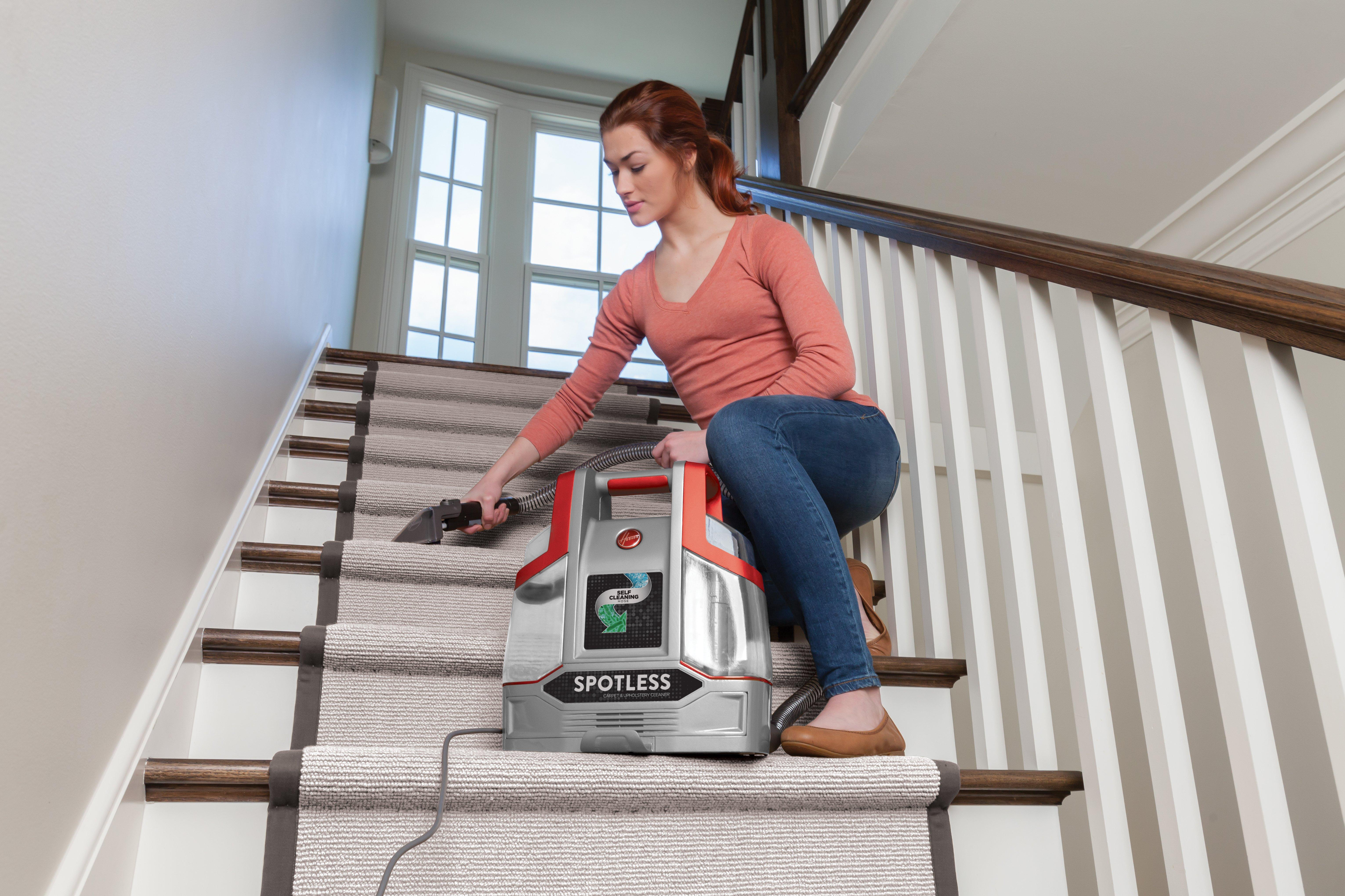 Hoover-Spotless-Portable-Carpet-amp-Upholstery-Cleaner-Washer-FH11300 thumbnail 4