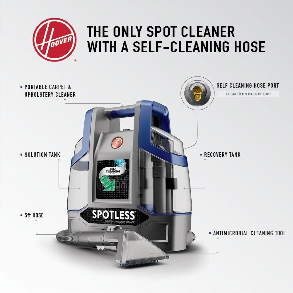 Hoover-Spotless-Deluxe-Portable-Carpet-amp-Upholstery-Cleaner-FH11400 thumbnail 11