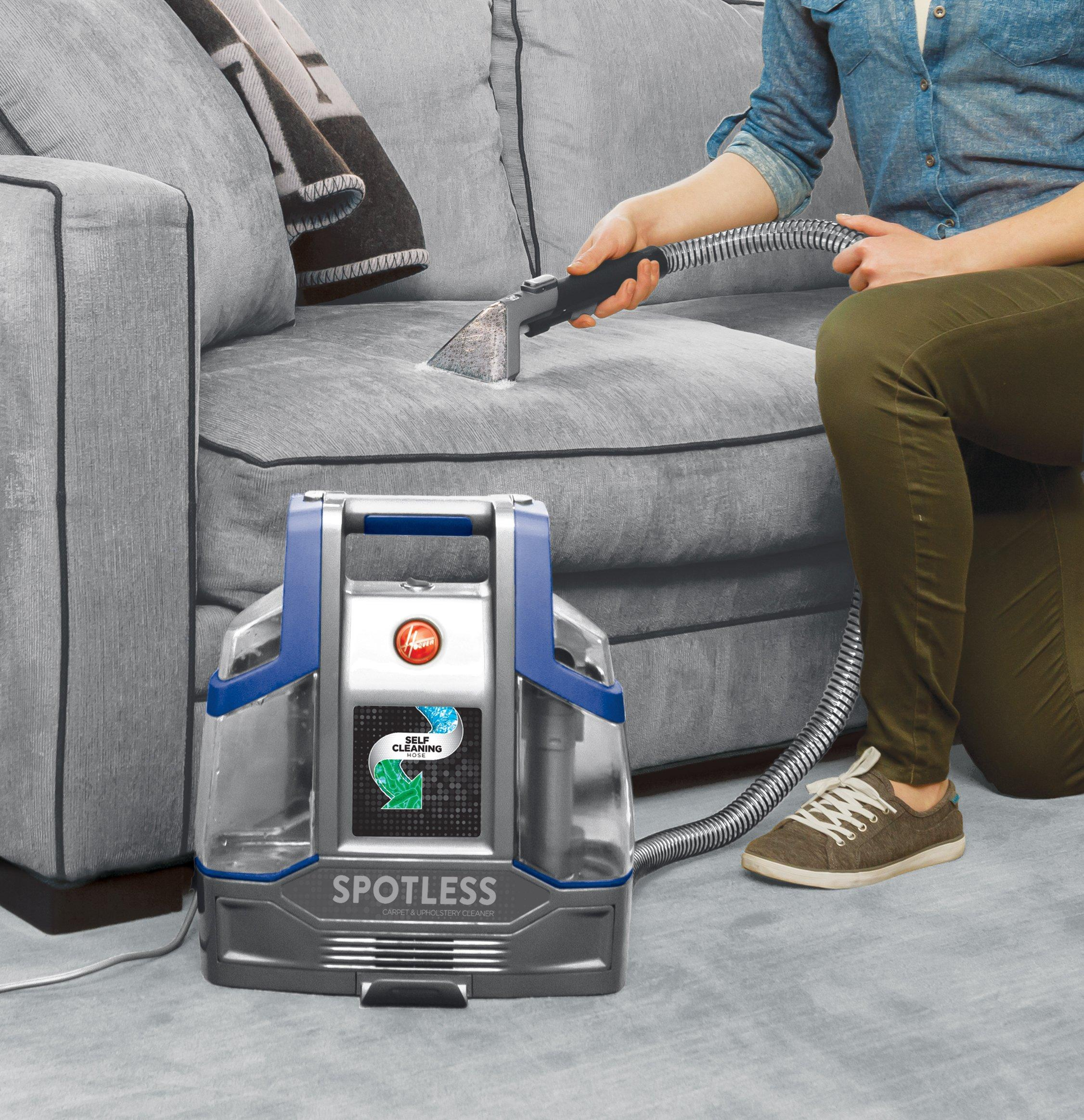 Hoover-Spotless-Deluxe-Portable-Carpet-amp-Upholstery-Cleaner-FH11400 thumbnail 4