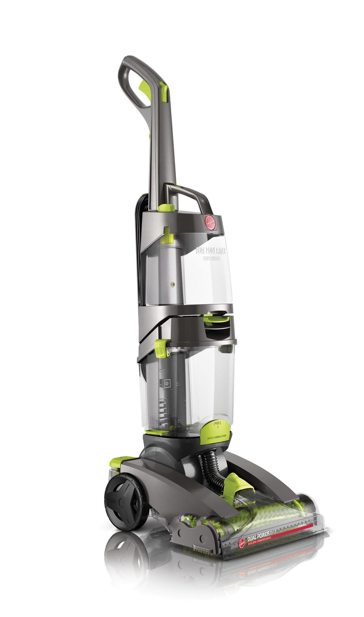 hoover carpet shampoo hoover dual power max carpet cleaner refurbished 29125
