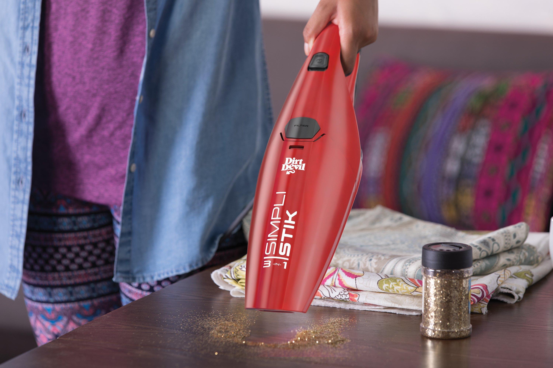Dirt-Devil-Simpli-Stik-Lightweight-Corded-Bagless-Stick-Vacuum-SD20000RED thumbnail 5