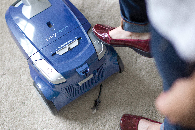 Hoover Envy Hush Bagged Canister Vacuum Sh40100 Ebay