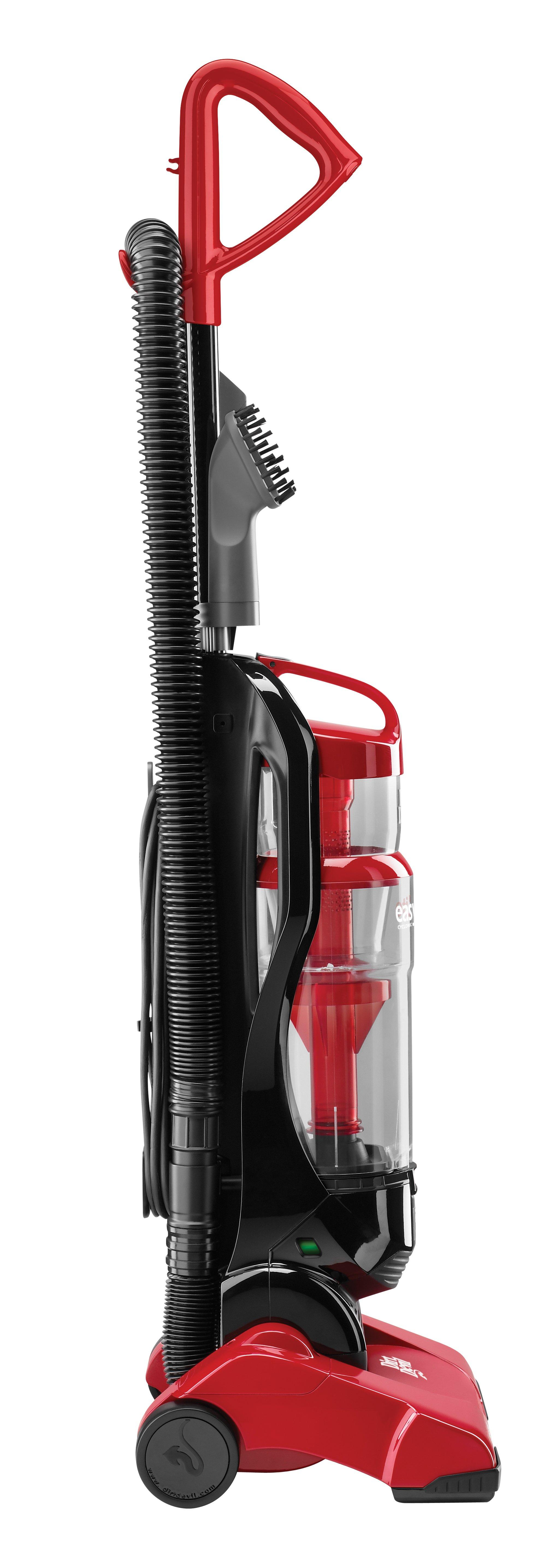 Dirt Devil Easy Lite Cyclonic Quick Vac Bagless Upright Vacuum Cleaner, UD20005