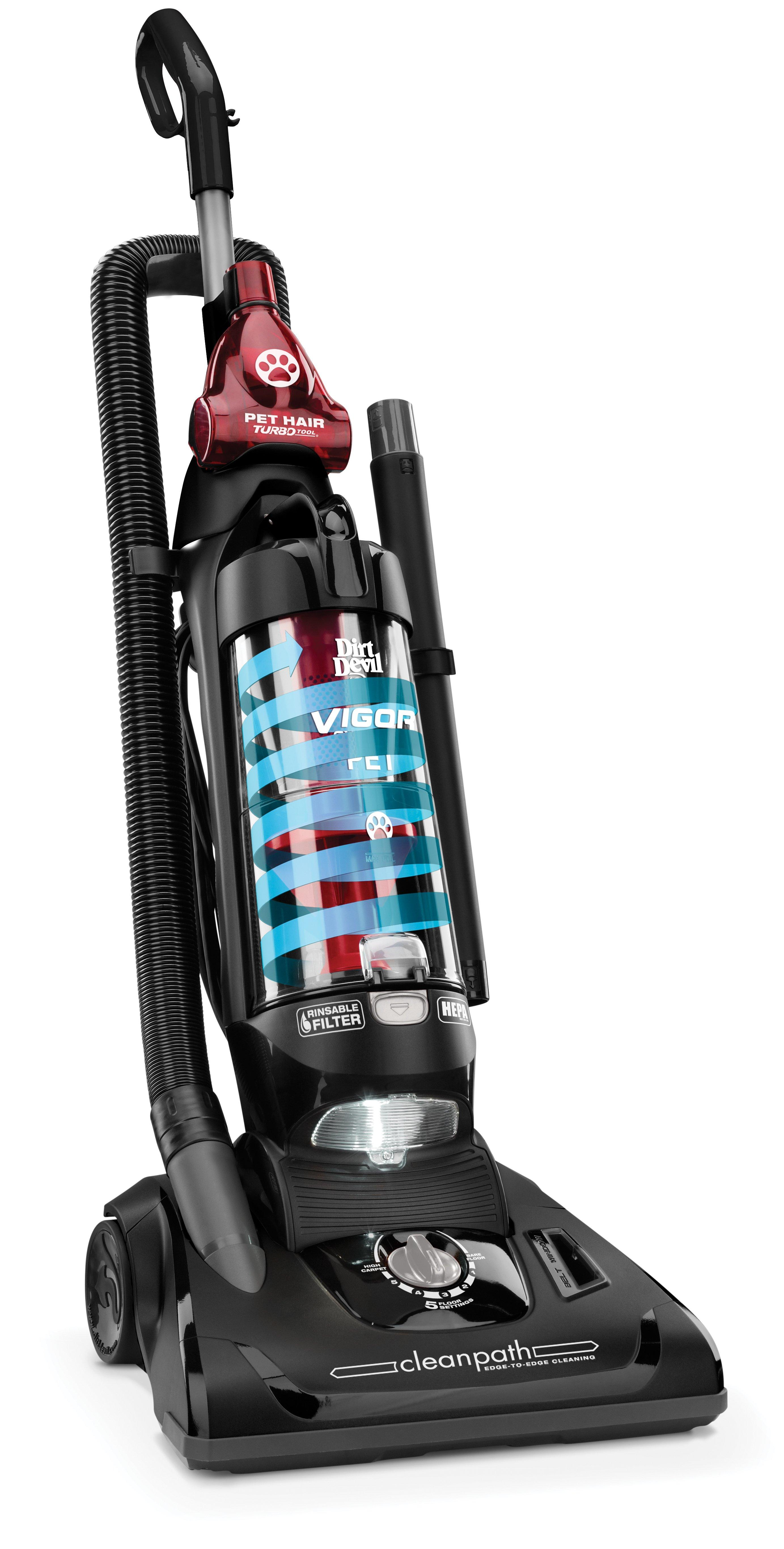 Dirt Devil Vigor Pet Cyclonic Bagless Upright Vacuum