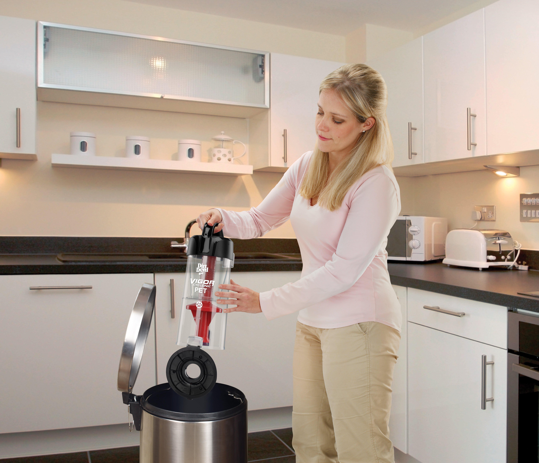 Dirt-Devil-Vigor-Pet-Cyclonic-Bagless-Upright-Vacuum-Cleaner-UD70222 thumbnail 7