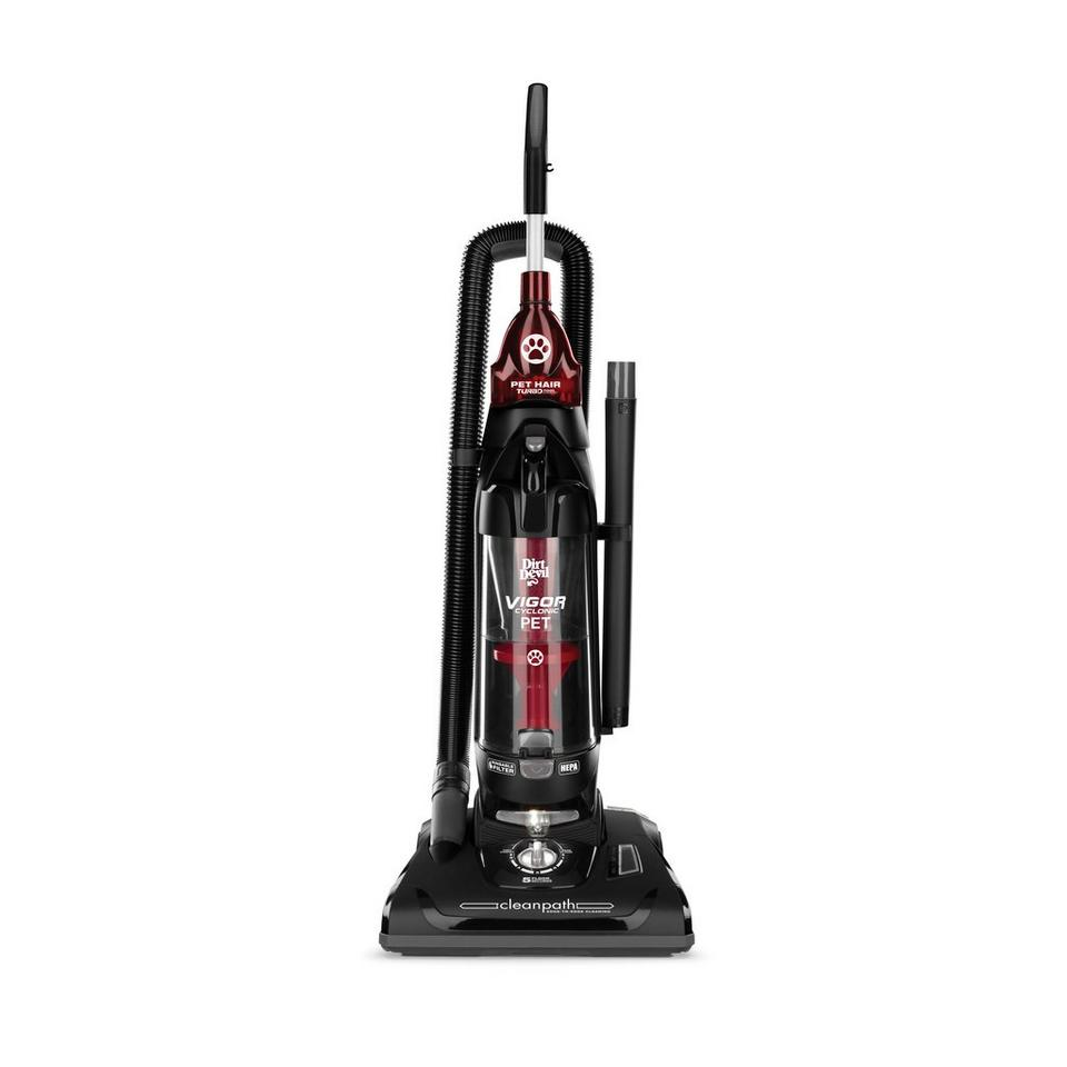 Dirt Devil Vigor Cyclonic Pet Bagless Upright Vacuum, UD7022