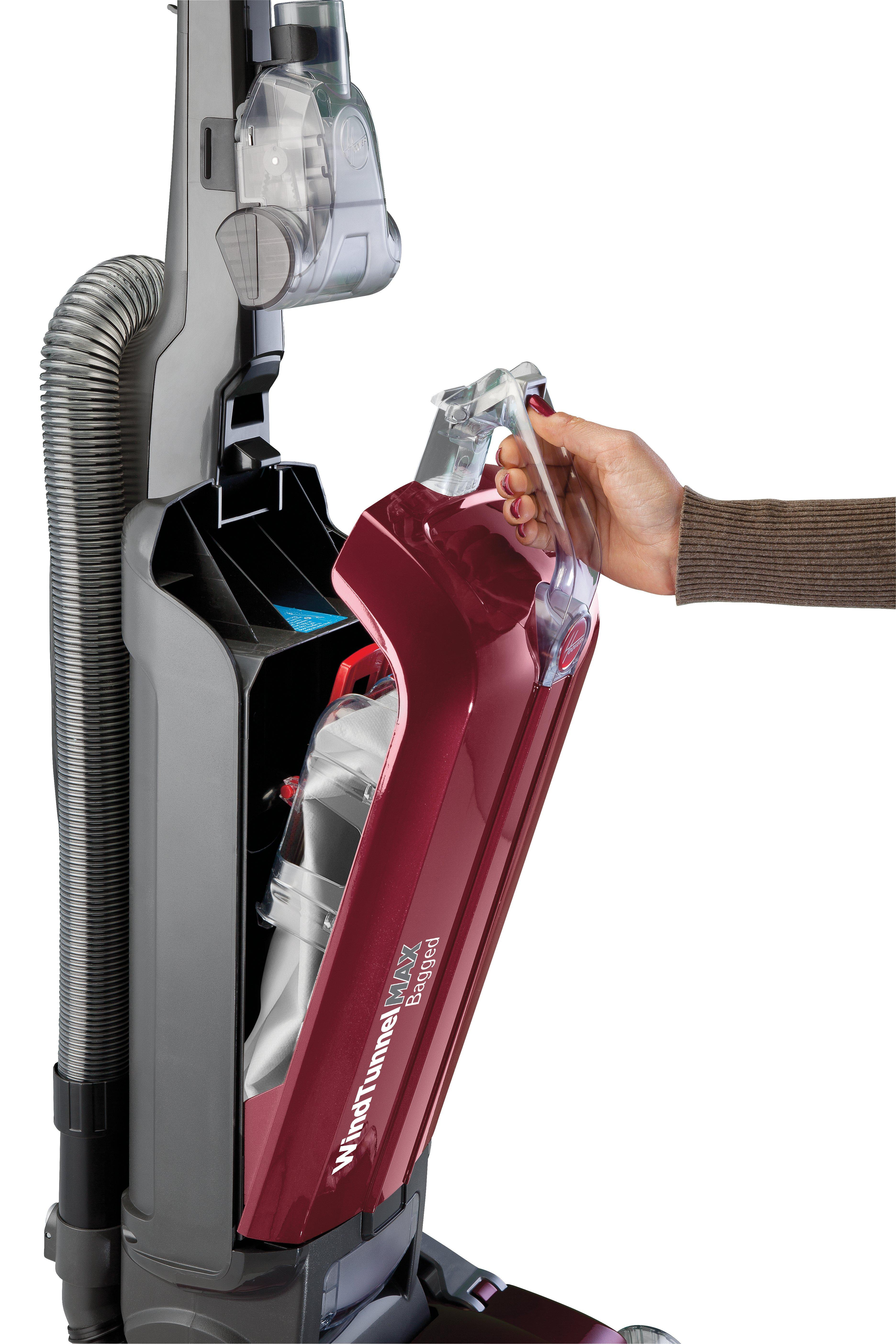Hoover WindTunnel MAX Bagged Upright Vacuum Cleaner, UH30600 7