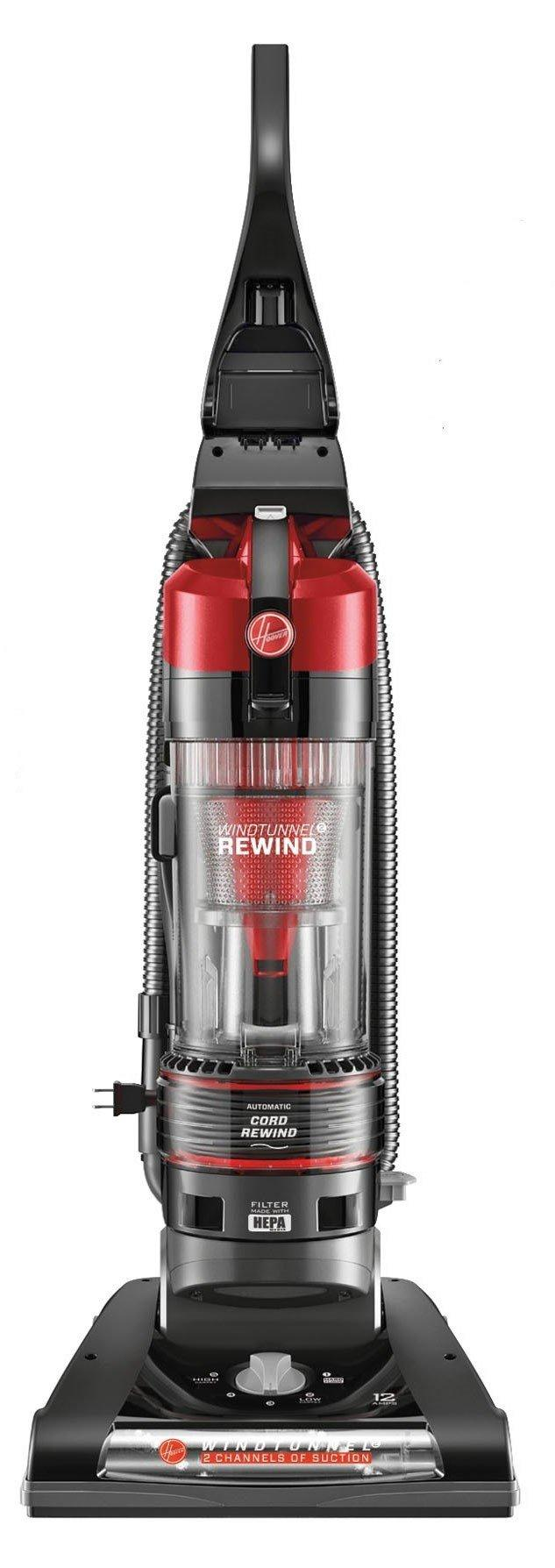 Hoover WindTunnel 2 Rewind Bagless Upright Vacuum Cleaner Refurbished UH70820RM