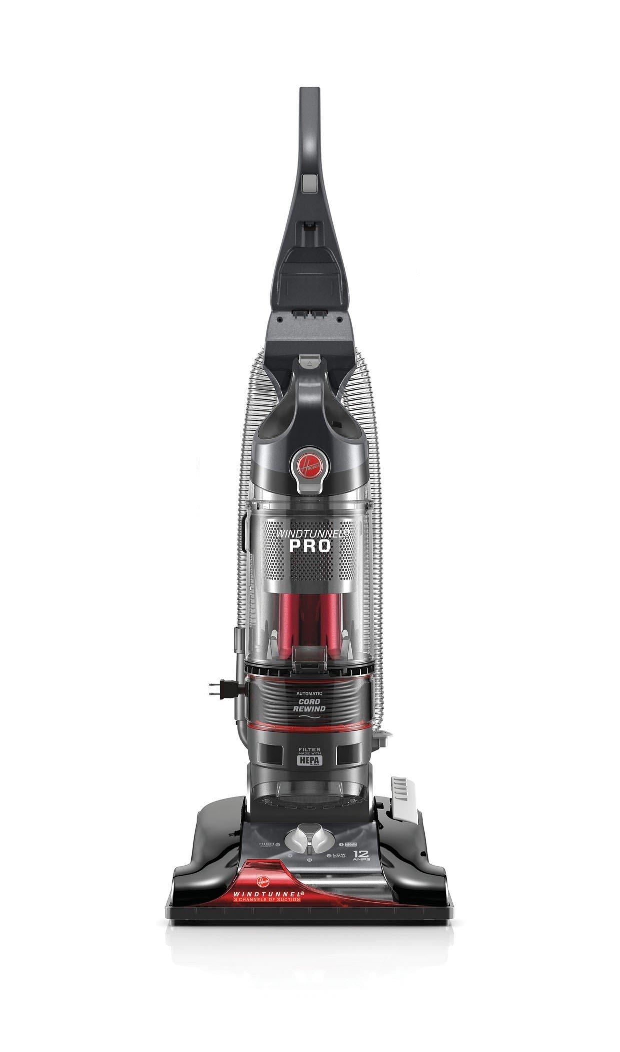 Image Is Loading Hoover WindTunnel 3 Pro Bagless Upright Vacuum Refurbished