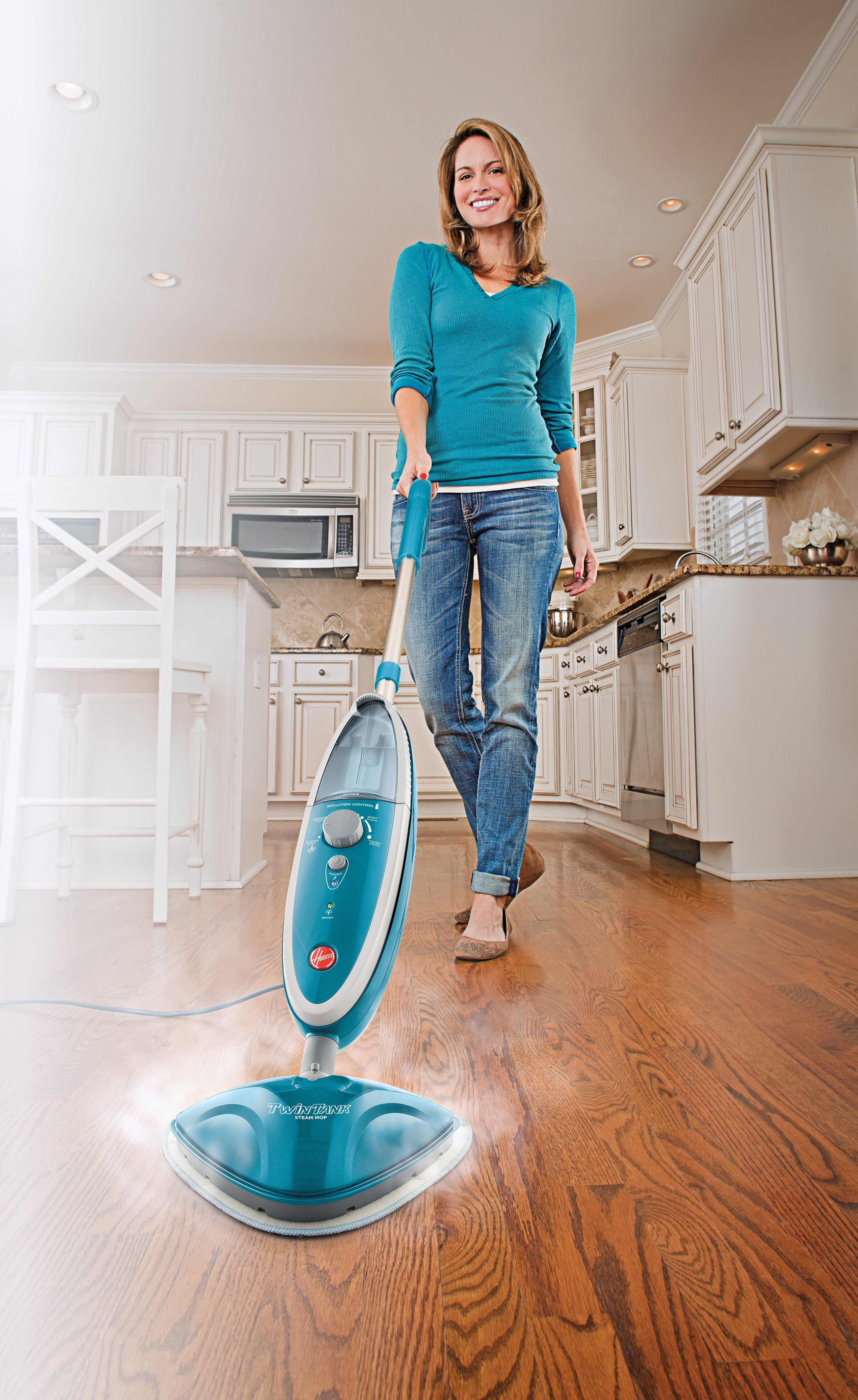 hoover twintank steam mop steam cleaner wh20200. Black Bedroom Furniture Sets. Home Design Ideas