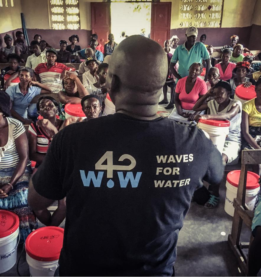 Waves for Water in Haiti
