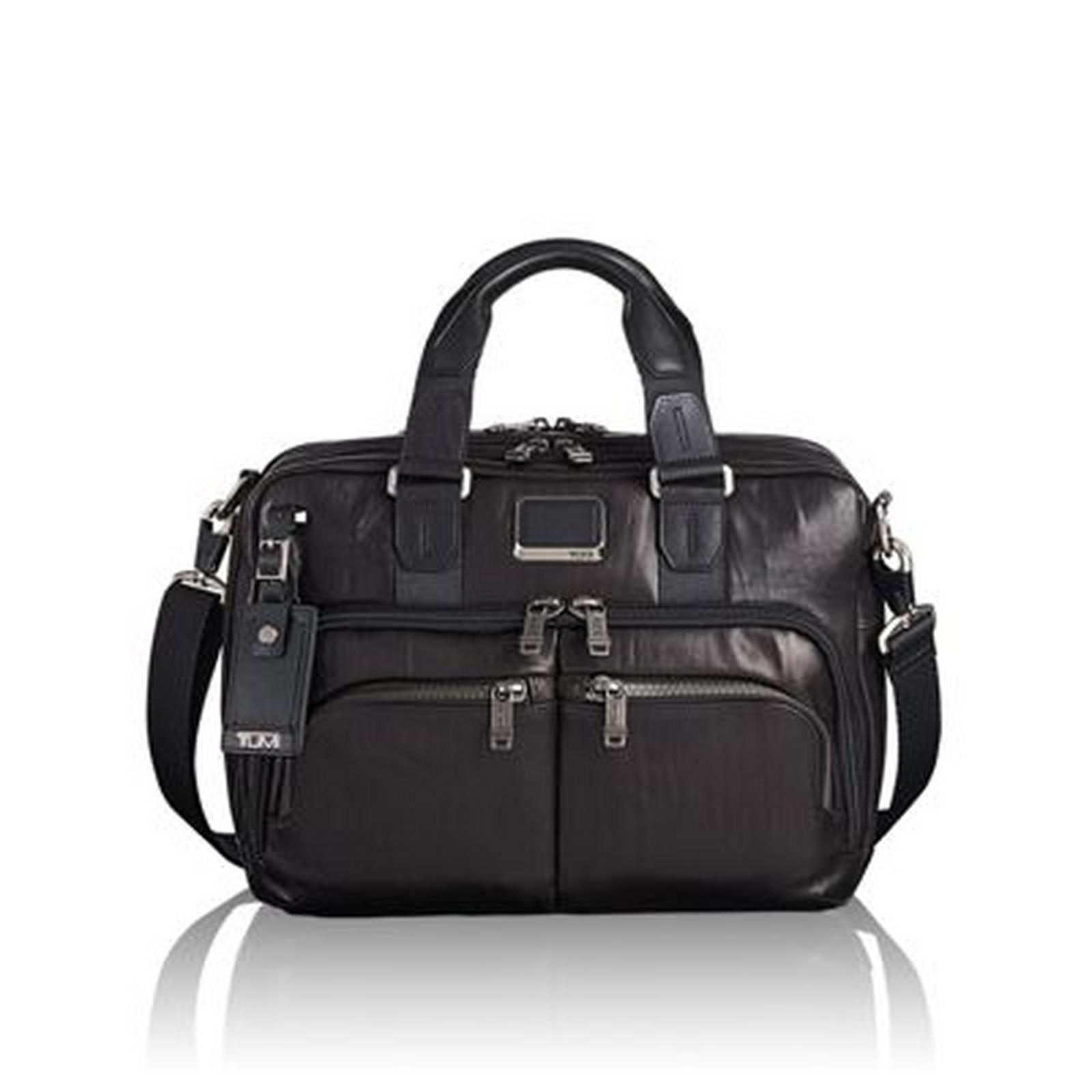 Albany Slim Commuter Brief Leather