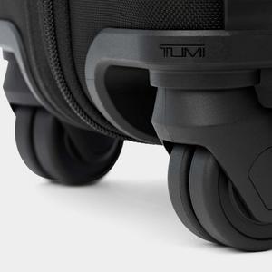 Detail of luggage wheel.