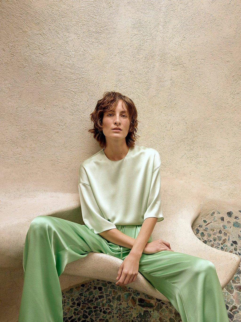 Satin Tee Spring 2020 Collection for Women