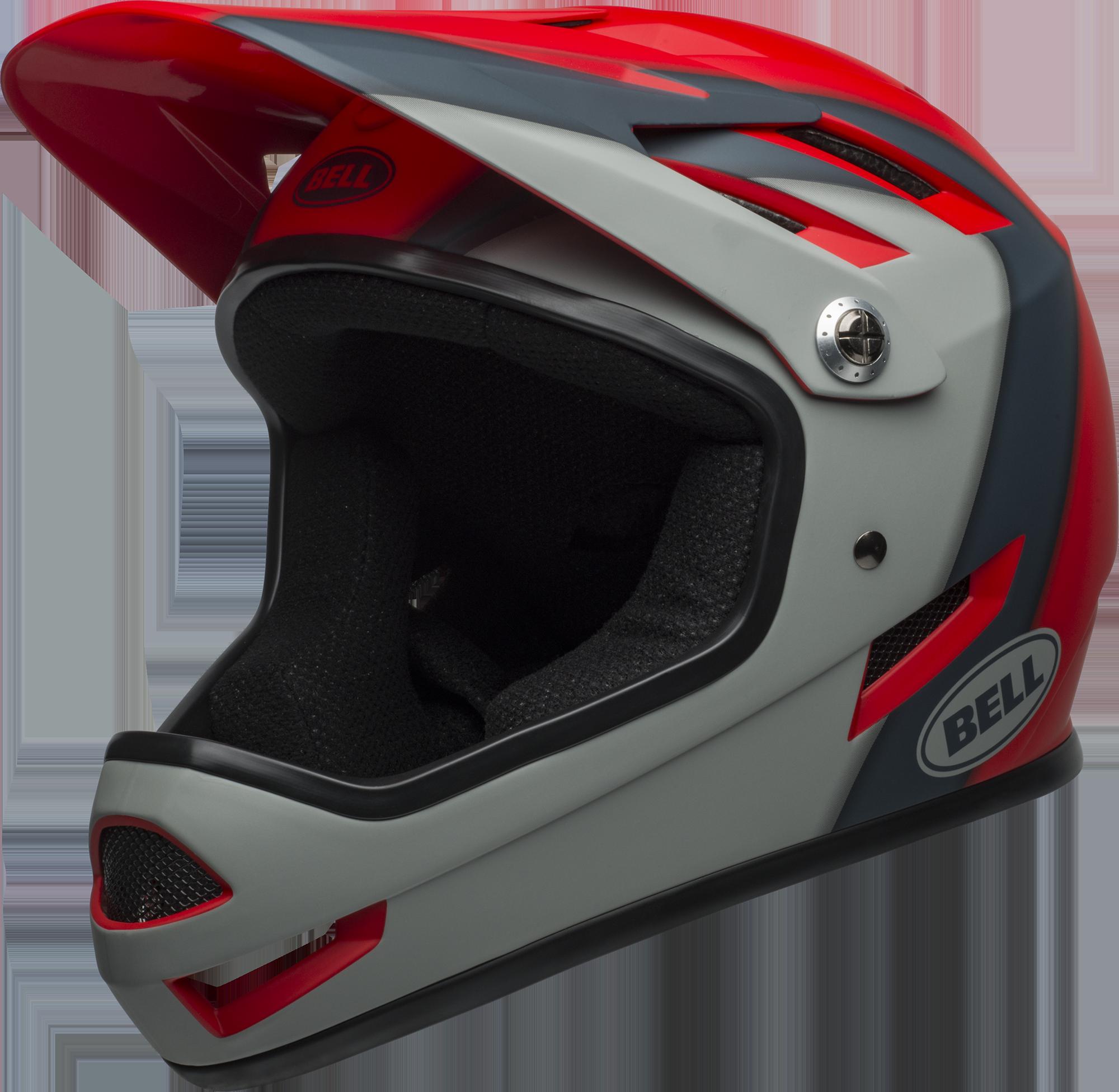 Bell Sanction Mountain Bike Full Face Helmet Mat Crsm/Slt/Dk Gry, Medium