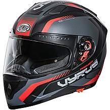 image of Premier Vyrus Helmet Matt Black / Red