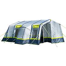 image of Olpro Home 5 Person Inflatable Tunnel Tent with Carpet