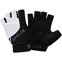 image of Dare2b Womens Forcible Mitts - Black/White