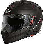 Premier Delta Flip Front Helmet Black/Red