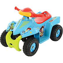 image of Toy Story 6V Mini Quad Electric Ride On