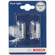 image of Bosch 580 W21/5W Car Bulbs x 2
