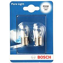 image of Bosch 382 P21W Car Bulbs x 2