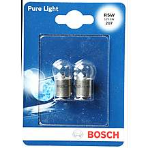 image of Bosch 207 R5W Car Bulbs x 2