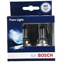 image of Bosch 477 H7 Car Bulbs x 2