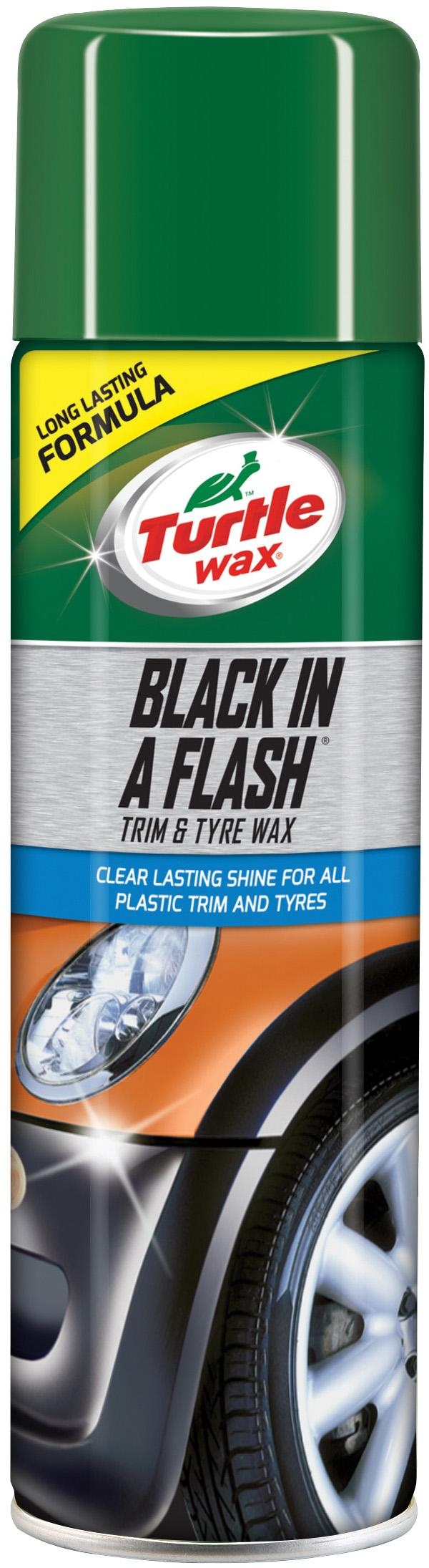 Turtle Wax Black In a Flash Gloss 500ml lowest price