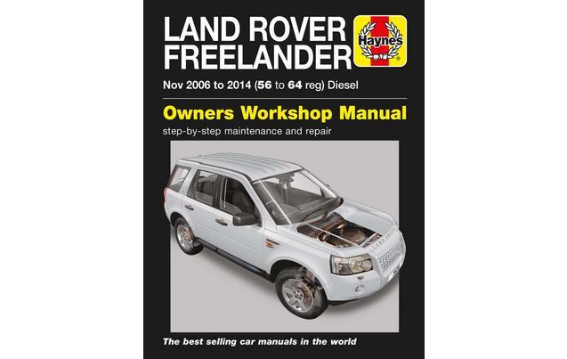 haynes land rover freelander diesel