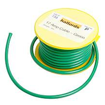 image of Halfords 17 Amp Cable Green HEF733