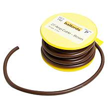 image of Halfords 27 Amp Cable Brown HEF742