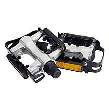 Halfords Caged Alloy Bike Pedals