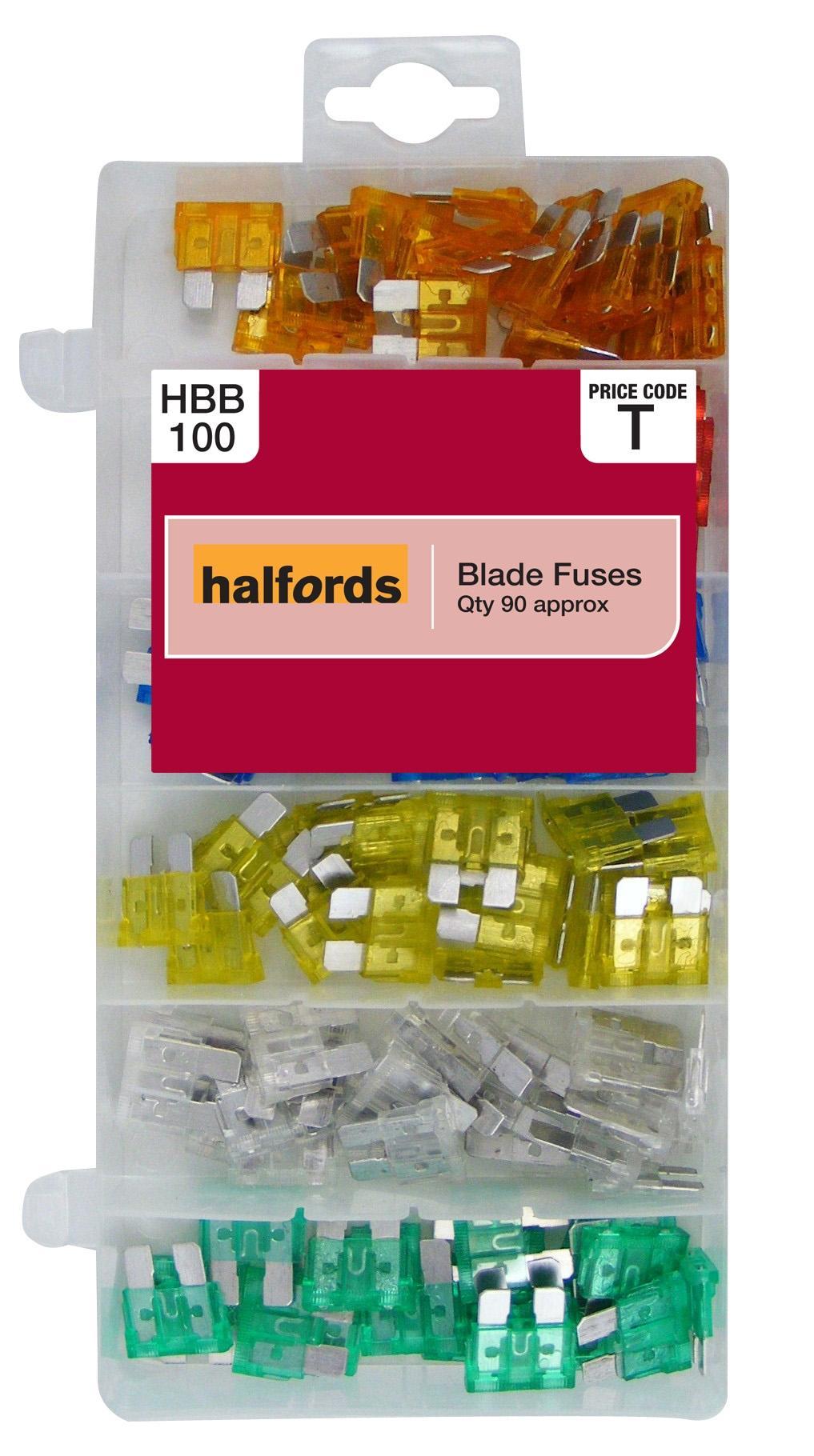 halfords assorted blade fuses hbb10 rh halfords com
