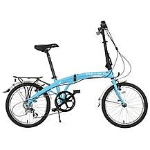 image of Carrera Intercity Folding Bike - Blue