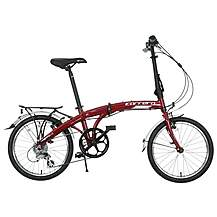 Carrera Intercity Folding Bike - Red