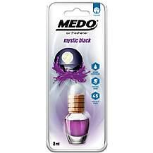 image of MEDO 8ml Hanging Glass Jar Mystic Black