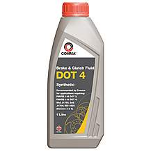 image of Comma DOT 4 Brake Fluid 1L