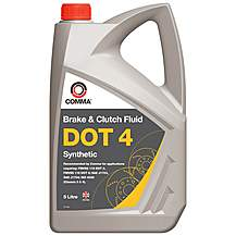 image of Comma DOT 4 Brake Fluid 5L