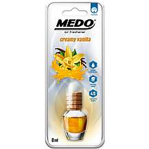 image of MEDO 8ml Hanging Glass Jar Creamy Vanilla