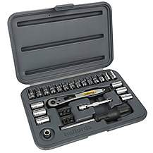 image of Halfords 30 Piece Socket Set 1/4""
