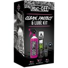 image of Muc-Off Wash, Protect, and Lube Kit