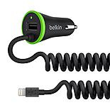 Belkin 2.4 Amp LTG & USB Car Charger