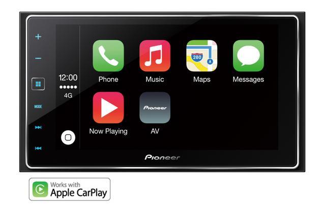 Halford's Pioneer SPH-DA120 Car Stereo with Apple CarPlay