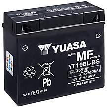Yuasa YT19BL-BS Powersport Motorcycle Battery
