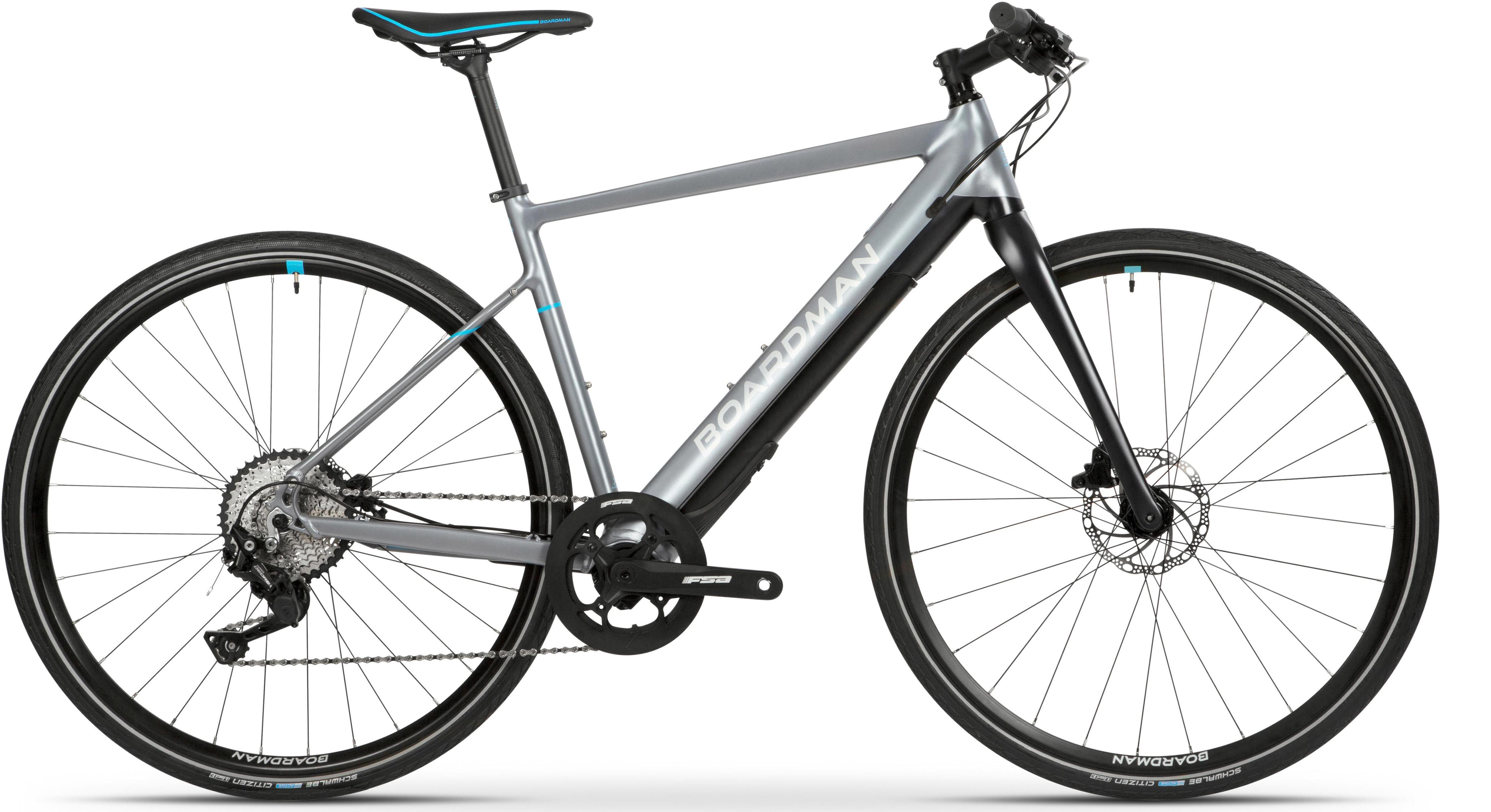 Boardman Hyb 8.9E Mens Hybrid Electric Bike - 49Cm