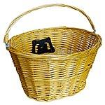 image of Halfords Essentials Wicker Bike Basket