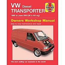 image of Haynes Manual VW T4 Transporter Diesel (90-03)